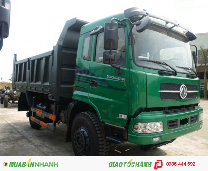 Xe tải ben Dongfeng Trường Giang tại miền Nam 9 tấn 2/ 9.2T 2015