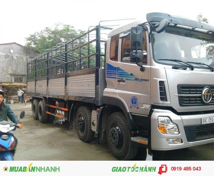 Xe tải Dongfeng 3 chân, 4 chân Trường Giang trả góp lãi suất ưu đãi 1
