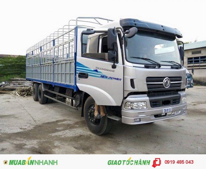 Xe tải Dongfeng 3 chân, 4 chân Trường Giang trả góp lãi suất ưu đãi 2