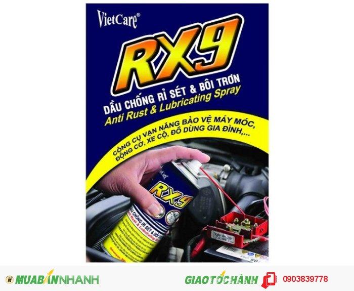 Vietcare RX9, Dầu chống rỉ sét và bôi trơn