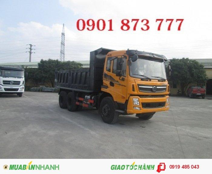 Xe tải tự đổ (xe tải ben) Dongfeng Trường Giang 7.8 tấn 8.5 tấn 9.2 tấn 14 tấn, Giá xe tải ben Dongfeng 1 cầu, 2 cầu rẻ nhất 2