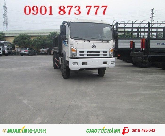 Xe tải tự đổ (xe tải ben) Dongfeng Trường Giang 7.8 tấn 8.5 tấn 9.2 tấn 14 tấn, Giá xe tải ben Dongfeng 1 cầu, 2 cầu rẻ nhất 3