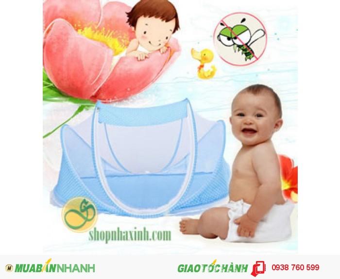 Mùng, màn chống muỗi trẻ em cao cấp NX11400