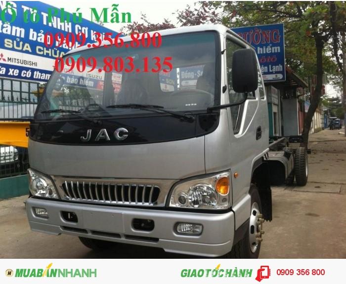 Bán xe tải JAC 4T9 (4 tấn9) (4t9) giao ngay giá tốt hỗ trợ vay vốn