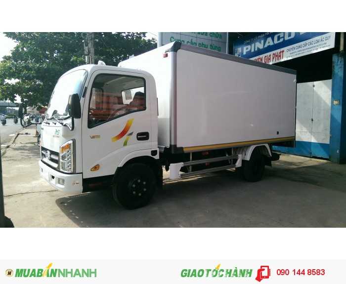 Xe tải Veam VT200 1,99T, Máy Hyundai, Thùng dài 4.35m, Vào thành phố, Hỗ trợ mua xe trả góp