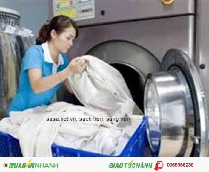 Tìm đại lý dịch vụ giặt khô là hơi – SASA Thăng Long