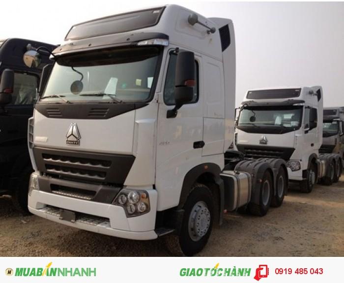 Cần mua xe đầu kéo Howo Cabin A7/T5G nhập khẩu giao ngay xe, Mua xe kéo rơ mooc nhập khẩu, lắp ráp 3