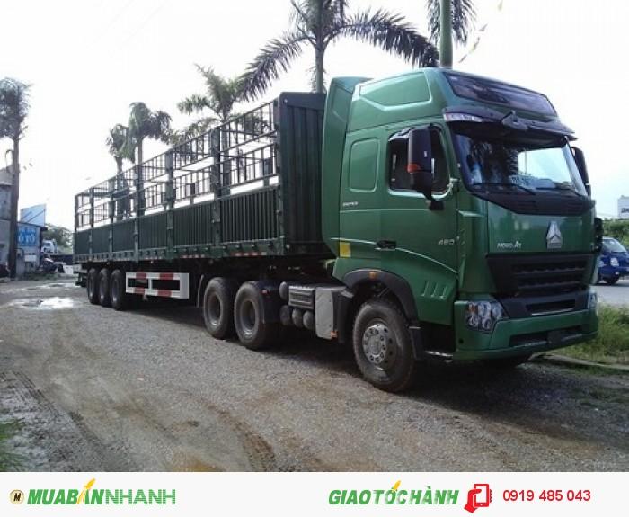 Cần mua xe đầu kéo Howo Cabin A7/T5G nhập khẩu giao ngay xe, Mua xe kéo rơ mooc nhập khẩu, lắp ráp 4