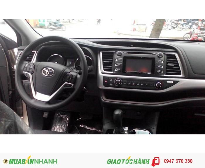 Bán Toyota Highlander 2015 LE màu đen giá tốt nhất 2
