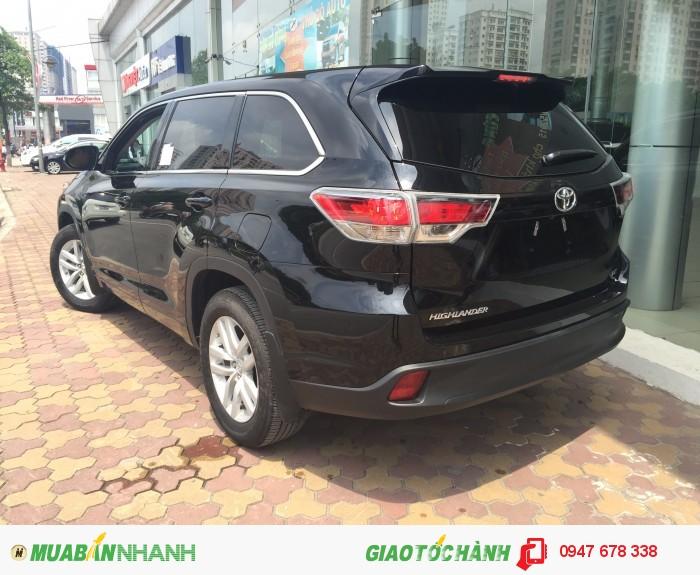 Bán Toyota Highlander 2015 LE màu đen giá tốt nhất 4