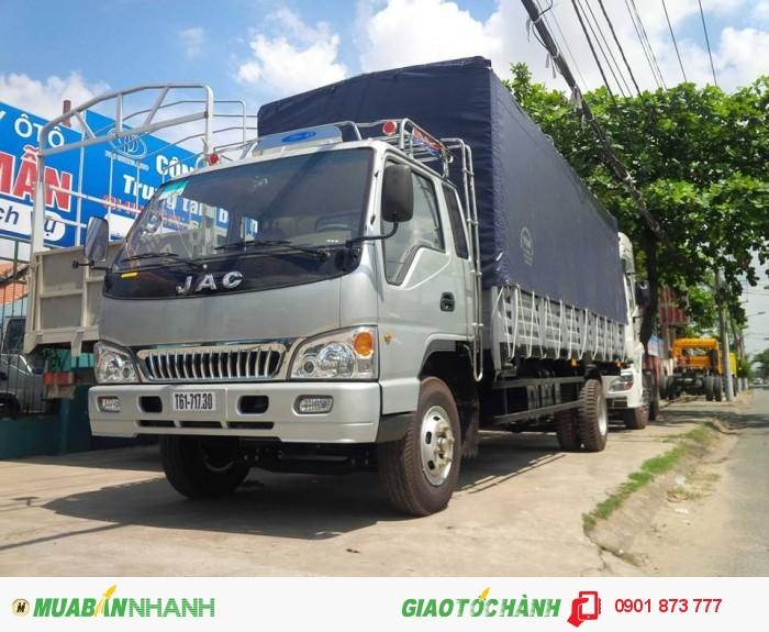 Đại lý xe tải JAC 1,99 tấn 2,4 tấn 3,45 tấn 4,9 tấn 6,4 tấn 8,35 tấn 3