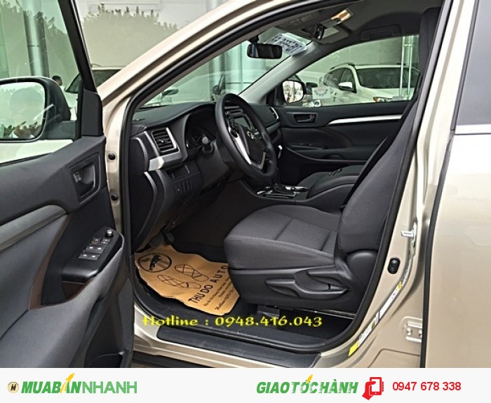 Bán Toyota Highlander 2015 vàng cát giá cực tốt 2