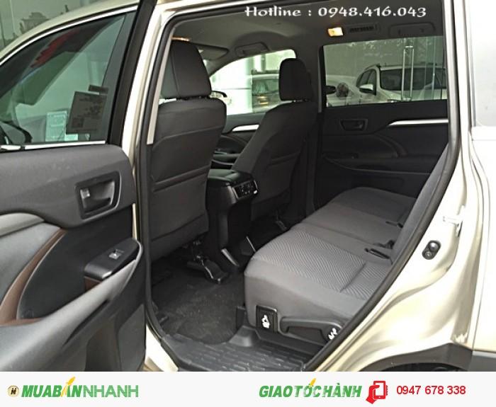 Bán Toyota Highlander 2015 vàng cát giá cực tốt 3