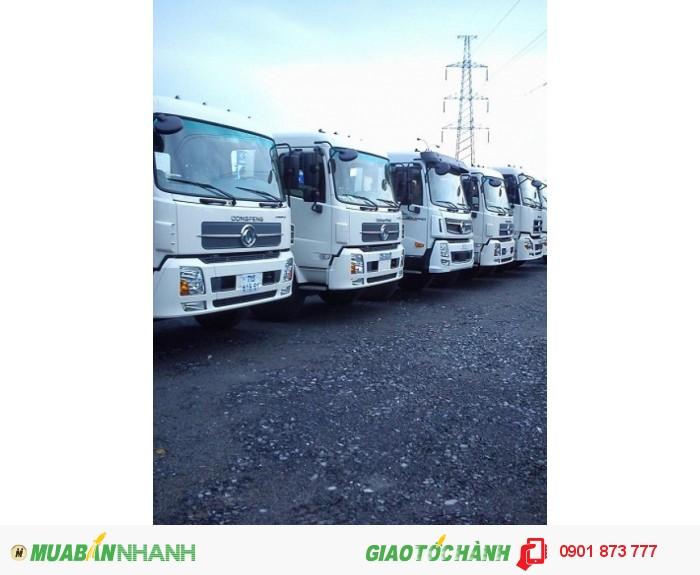Đại lý xe tải Dongfeng Hoàng Huy 3 chân 13 tấn/4 chân 18 tấn máy Cummins, Giá xe Dongfeng 3 giò 13T, 4 giò 18T tốt nhất