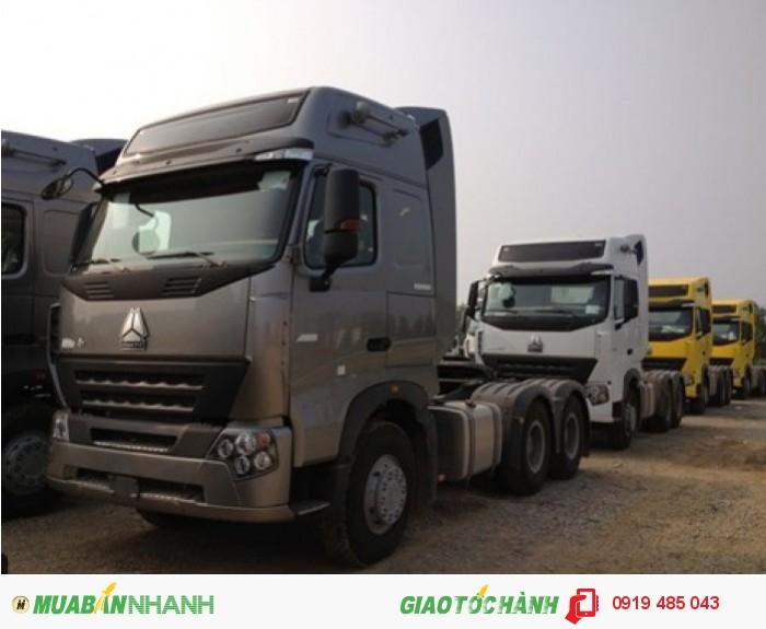 Công ty bán xe đầu kéo Howo Cabin A7 máy 375, 420 cầu láp, cầu dầu, cầu man nhập khẩu giá rẻ nhất 4