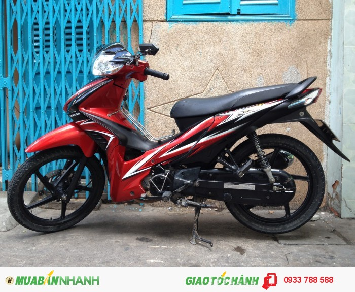 Wave Rsx 110 Đỏ-đen bánh mâm zin theo xe,xe đẹp 90%,BSTP chính chủ