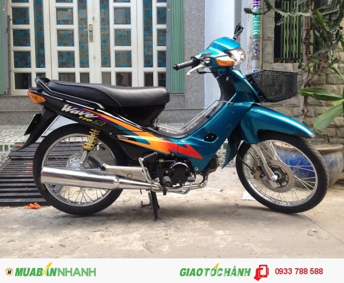 Wave Anpha dọn phong cách 110 Thái,xe đẹp long lanh,BSTP chính chủ 0