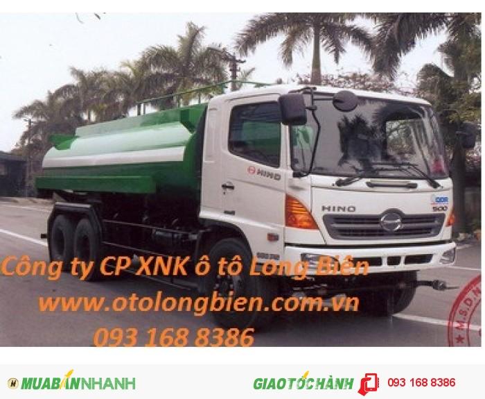 Xe phun nước, tưới cây, rửa đường 5m3, 9m3, 13m3, 17m3-20m3 Long Biên, Hà Nội 2015 4