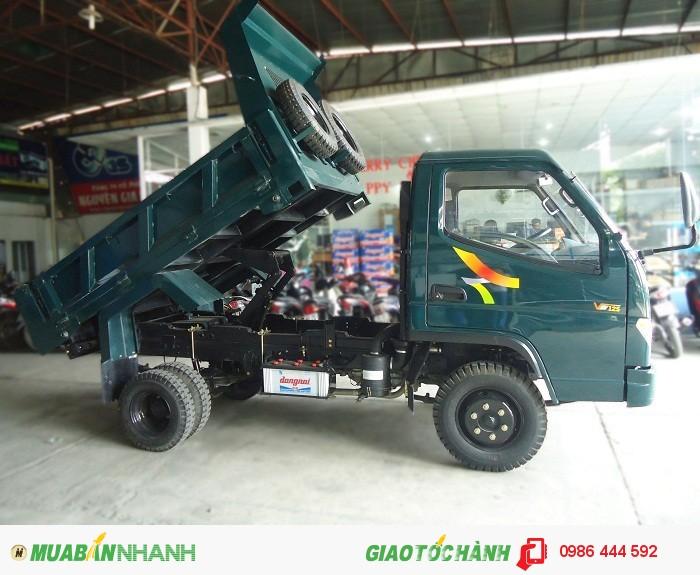 Đại lý bán xe tải ben tự đổ Veam 1T VB100 - 1T25 VB125 - 1T50 - VB150 trả góp