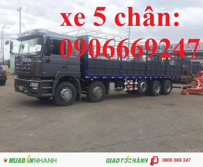 Xe tải 4 chân shacman
