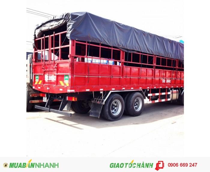 Xe tải 4 chân shacman 4