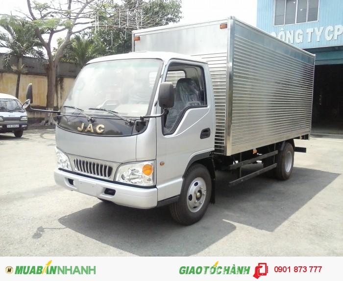 Đại lý xe tải JAC 2.4 tấn, 2.4 tấn bảo hành 5 năm chạy vào thành phố, cần bán xe tải jac 2.5 tấn giao ngay xe 2