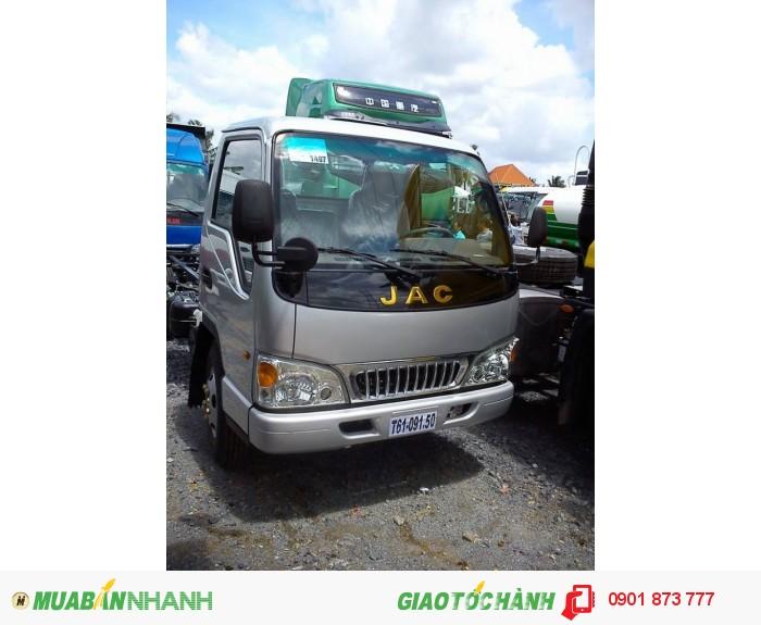 Đại lý xe tải JAC 2.4 tấn, 2.4 tấn bảo hành 5 năm chạy vào thành phố, cần bán xe tải jac 2.5 tấn giao ngay xe