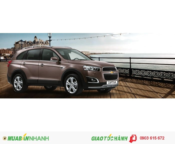 Chevrolet Captiva Ltz 2015 Giảm Giá Còn 829 Triệu