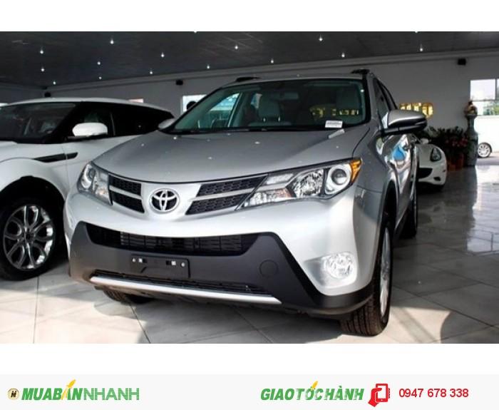 Bán xe Toyota RAV4 2015 màu bạc giá siêu rẻ