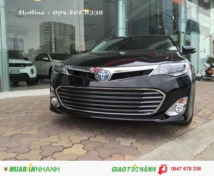 Bán xe Toyota Avalon 2015 Hybrid màu đen giá tốt