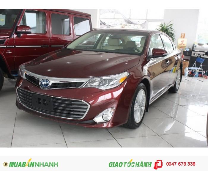 Xe Toyota Avalon 2015 Hybrid màu Đỏ Đun