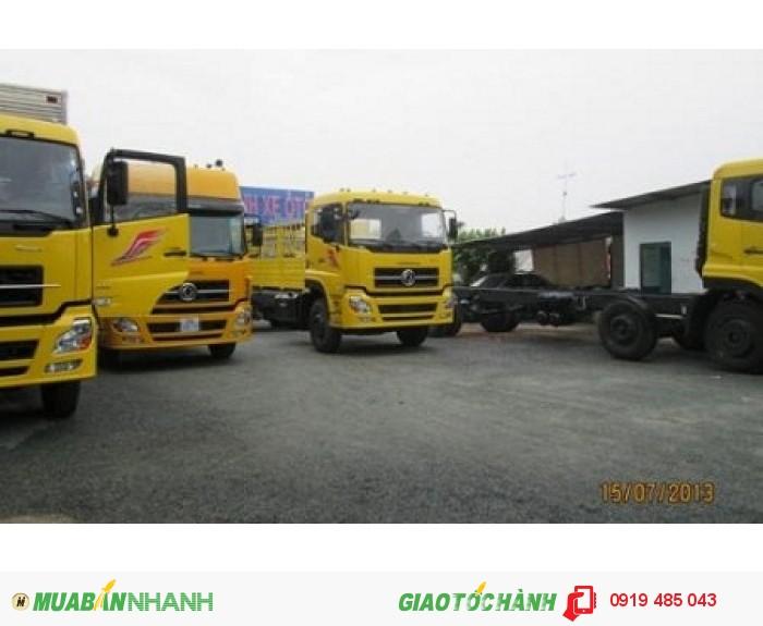 Chuyên bán xe tải Dongfeng Hoàng Huy 3 chân 13 tấn, 4 chân 18 tấn, Mua xe tải Dongfeng 3 giò C260, 4 giò L315 1