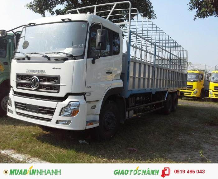 Chuyên bán xe tải Dongfeng Hoàng Huy 3 chân 13 tấn, 4 chân 18 tấn, Mua xe tải Dongfeng 3 giò C260, 4 giò L315 2