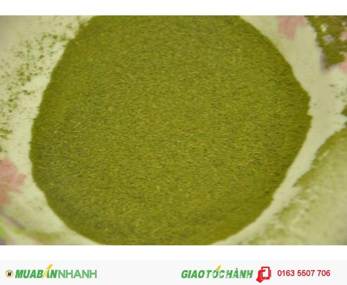 Bột trà xanh nguyên chất Thái Nguyên0