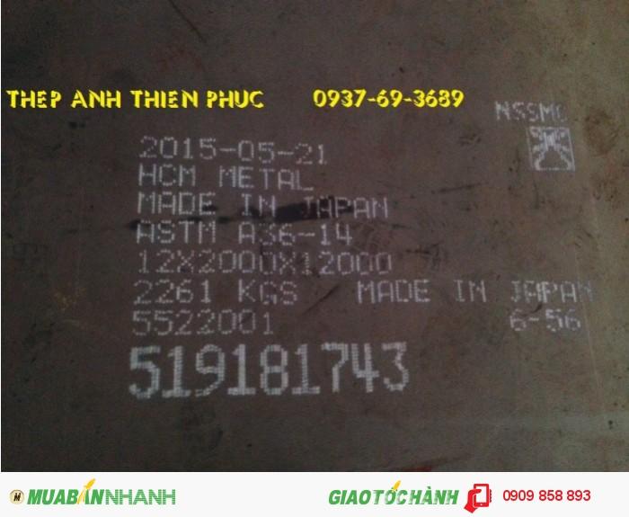 [2] Thép tấm đóng tàu giá rẻ A36 6 x 2000 x 12000 mm