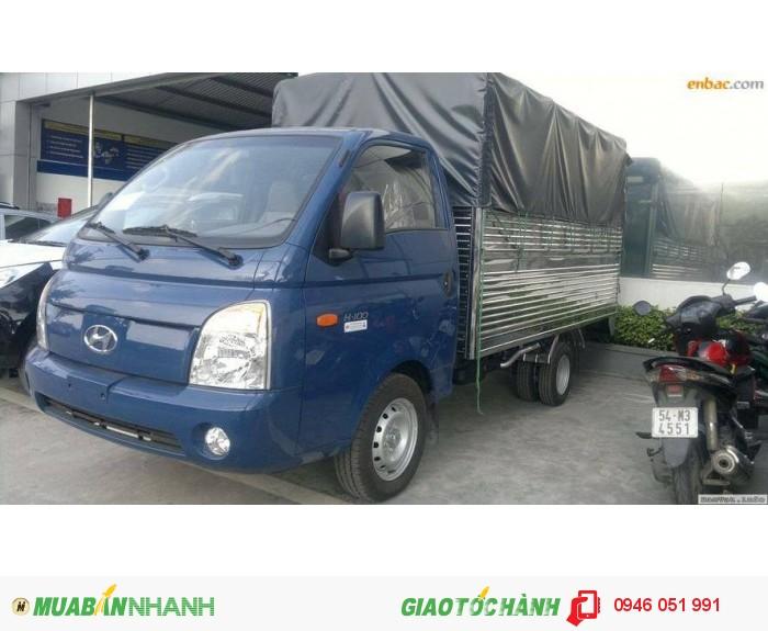 Bán xe tải 1 tấn H100, khuyến mại lớn