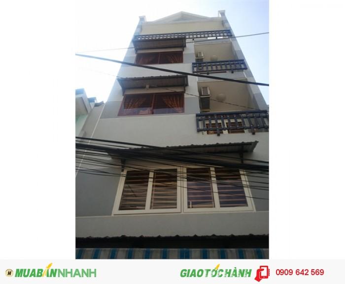 Cần tiền bán gấp nhà MT Hai Bà Trưng, q3, 3 lầu, diện tích : 20m*3.9m giá 25 tỷ (TL)