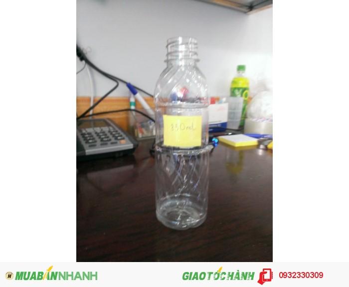 Chuyên cung cấp chai nhựa Pet đựng nước suối, sâm, sữa tươi, nha đam tại Vũng Tàu