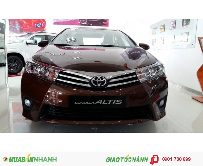 Toyota Corolla Altis sản xuất năm 2015 Số tự động Động cơ Xăng