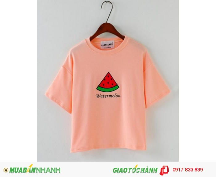 Chuyên sản xuất áo thun nữ