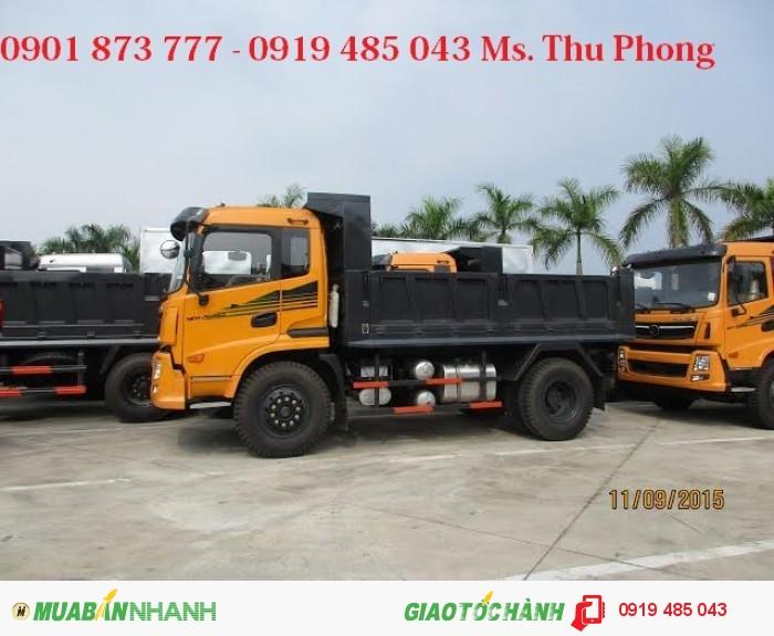 Xe tải ben, xe tải tự đổ Dongfeng Trường Giang 7.8 tấn 8.5 tấn 9.2 tấn 14 tấn giá rẻ,có xe giao ngay 3