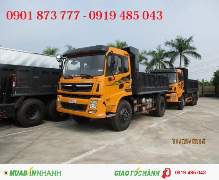 Xe tải ben, xe tải tự đổ Dongfeng Trường Giang 7.8 tấn 8.5 tấn 9.2 tấn 14 tấn giá rẻ,có xe giao ngay 4