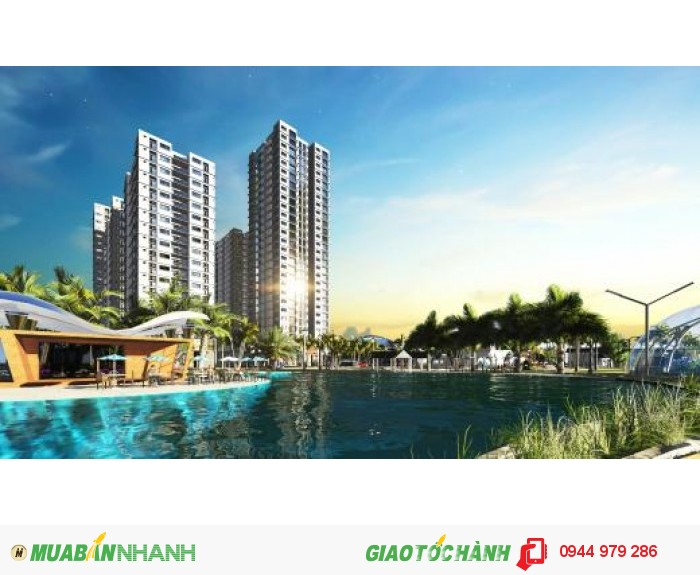 Căn Hộ Nam Sài Gòn, Đối Diện Sunrise City, Chỉ 1.09 Tỷ/ Căn, Giá Góc Chủ Đầu Tư