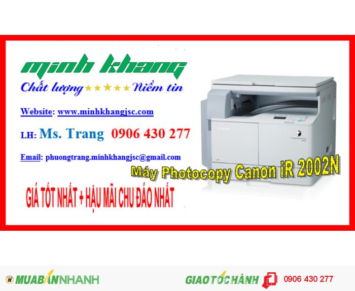 Máy Photocopy Canon iR 2002N1