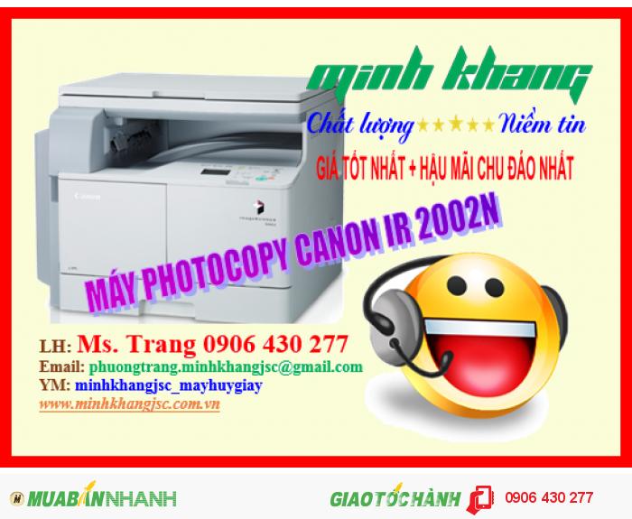 Máy Photocopy Canon iR 2002N4