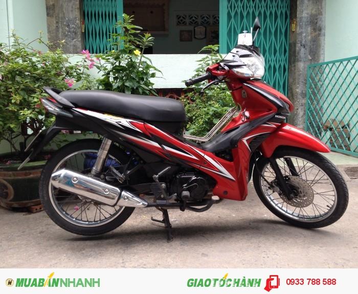 Xe Wave Rsx 110 Đỏ-đen,xe đẹp 90%,máy zin chua bung,BSTP chính chủ 0