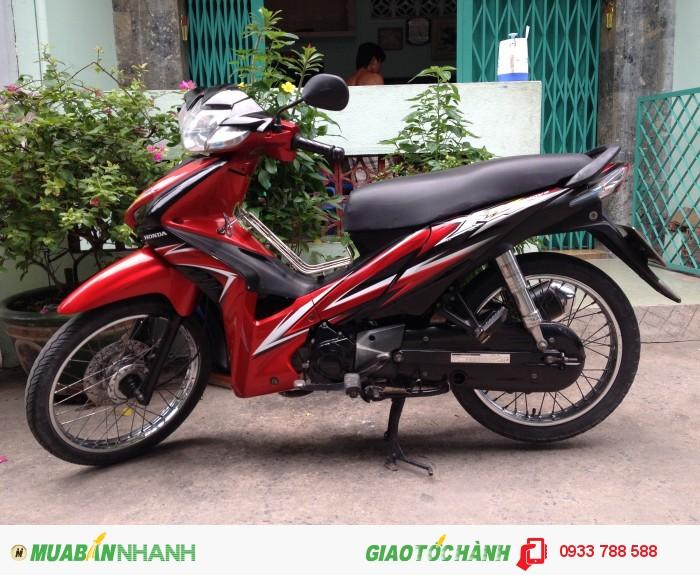 Xe Wave Rsx 110 Đỏ-đen,xe đẹp 90%,máy zin chua bung,BSTP chính chủ 1