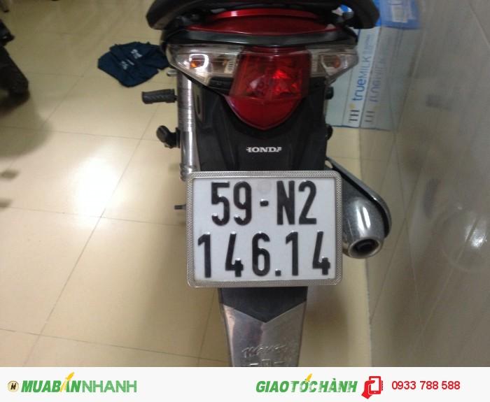 Xe Wave Rsx 110 Đỏ-đen,xe đẹp 90%,máy zin chua bung,BSTP chính chủ 3