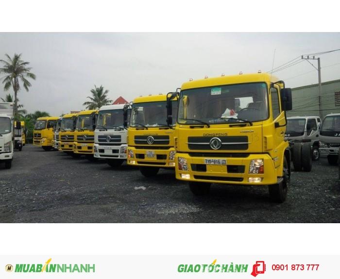 Xe tải thùng Dongfeng Hoàng Huy 2 chân 3 chân 4 chân máy Cummins nhập khẩu, Mua xe Dongfeng giá rẻ
