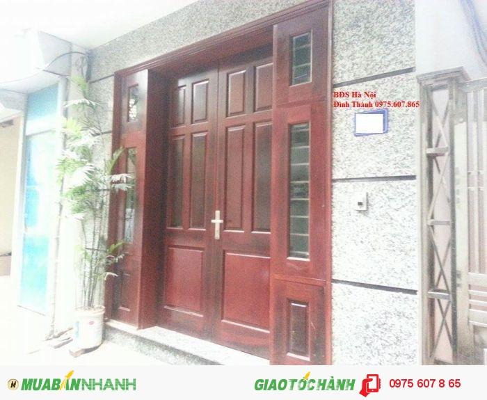 Bán nhà thổ cư phố Nguyễn Văn Huyên,Cầu Giấy mặt tiền đẹp, giá 4 tỷ